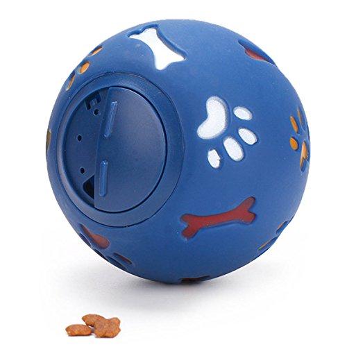 vegxpet Pet Spielzeug IQ Ball interacative Puppy Treat Ball Food kleckereien Activity Bite S 7,5cm -