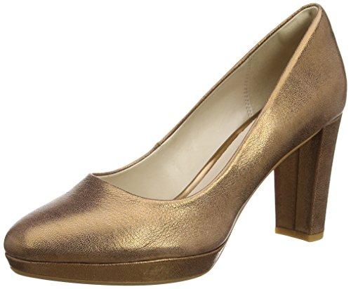 Clarks Damen Kendra Sienna Pumps, Grau (Bronze Metallic), 38 EU