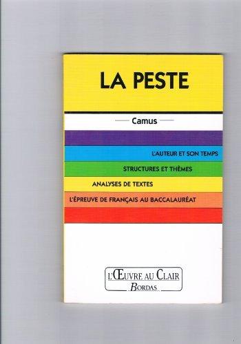 O.CL/CAMUS LA PESTE (Ancienne Edition) par Jacques Rougeon