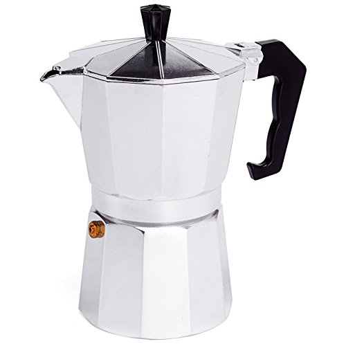 MSV Espressokocher Espresso Mokka Maker Kaffeebereiter Aluminium - 6 Tassen