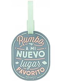 Etiqueta para equipaje Mr. Wonderful- Rumbo a mi nuevo lugar favorito