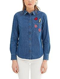 f76824fd8ecda Amazon.fr   34 - Chemisiers et blouses   T-shirts, tops et ...