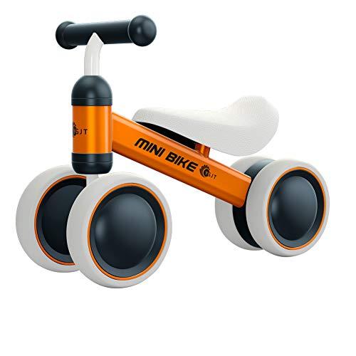 YGJT Bicicleta Bebé sin Pedales Juguetes Bebes 1 año 10 Meses a 24 Meses Triciclo Bicicleta de Equilibrio Correpasillos Bebes Regalo Elección