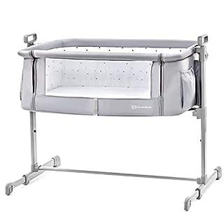 Kinderkraft Neste 2in1 Beistellbett mit Matratze Babybett Kinder Baby Reisebett, grau (B07C62HKTB) | Amazon Products