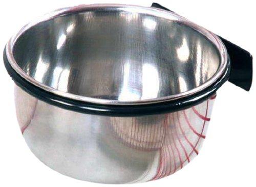 LITTLE FRIENDS Metal Feeding Dish Bolt Bowl Coop Cup Small 300ml 1