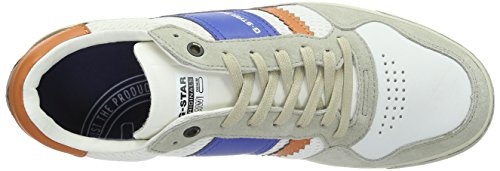 G-STAR RAW Cooper, Sneakers basses homme blanc (bright white-1322)
