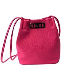 Bolso Bandolera Bolsa de hombro de Piel Grande para Mujer y Shoppers por ESAILQ D