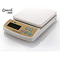 Quark Mart Electronic Digital Kitchen Scale, Kitchen Scale Digital Multipurpose, Weight Machines for Kitchen, Weight Machine, Weight Scale Kitchen, Kitchen Weight Machine Digital(10 Kg)