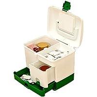 Mizii Medizinische Box Große Bequeme Tragbare Schnalle Sperre Multi-Layer-Fach Schublade Notfall Lagerung Aufbewahrungsbox... preisvergleich bei billige-tabletten.eu