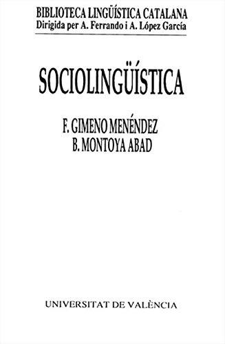 Sociolingüística (Catalan Edition) por Francesc Gimeno