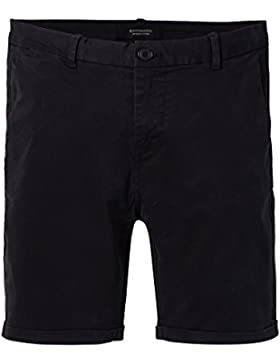 Scotch & Soda Classic Chino Short In Stretch Cotton Twill Quality, Pantalones Cortos para Hombre