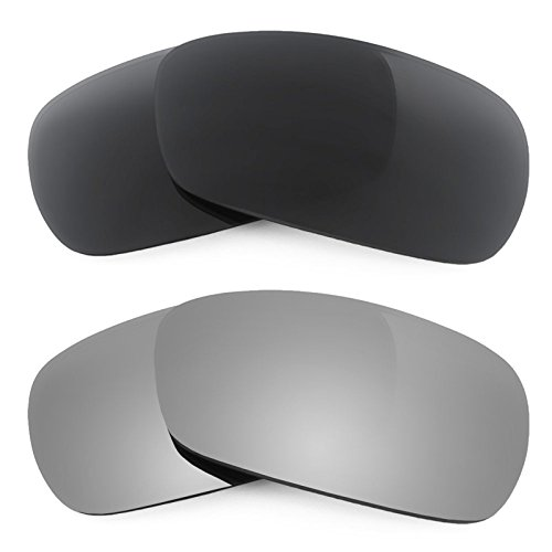 Revant Ersatzlinsen für Oakley Crosshair 2.0 Polarisiert 2 Paar Kombipack K001