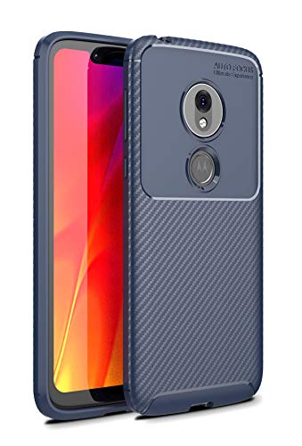 Case Collection Carbonfaser Design Hülle für Motorola Moto G7 Play Hülle (5,7