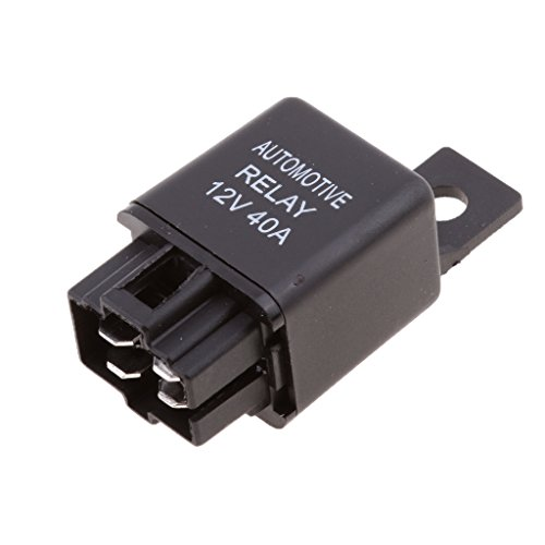 MagiDeal 1 Stück 4 Pin 12V 40A SPST Relais für Autoalarme Fernstarts HID-Scheinwerfer