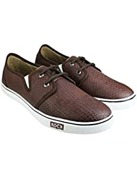 Tycos Brown Canvas Shoes For Men & Boys