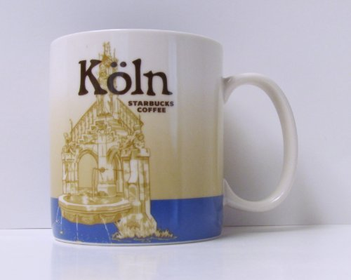 Starbucks City Mug Köln Germany Coffee Cup Cologne Stadt Tasse Pott