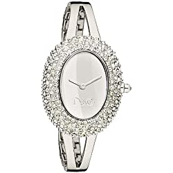 D&G DW0279 Ladies 'Music' Stainless Steel Bracelet Watch with Stones