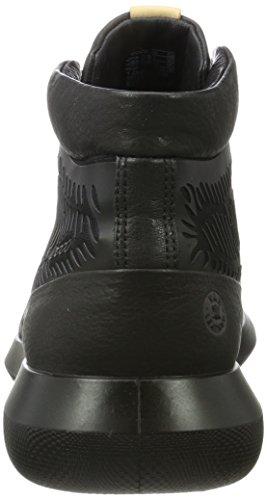 Ecco Scinapse, Sneaker a Collo Alto Uomo Nero (Black/black)
