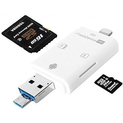 WECODO Adattatore Lightning iFlash Drive USB OTG