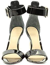 28b84df907 Guess Katrinna2/Sandalo (Sandal)/Lea Scarpe con Cinturino alla Caviglia  Donna