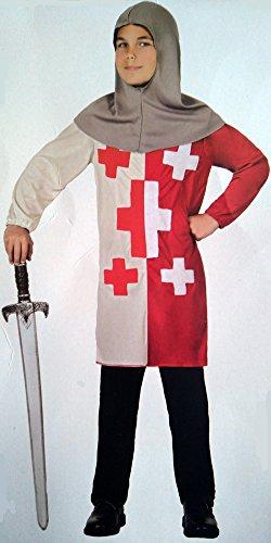 Kinder-Kostüm Soldat mittelalterlichen (5-6Jahre)