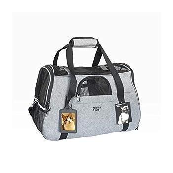 ABISTAB Pets Luxi Sac de Transport pour Chat et Petit Chien jusqu'à 7 kg 48 x 33 x 25,5 cm