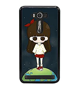 Fuson Premium 2D Back Case Cover Cute baby on Earth With Multi Background Degined For Asus Zenfone 2 Laser ZE500KL::Asus Zenfone 2 Laser ZE500KL (5 Inches)