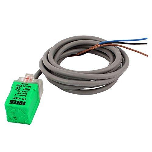 DealMux DC 102-30V 3 Wires 5mm Erkennung Entfernung Proximity Sensor NPN NO PL-05P-Schalter
