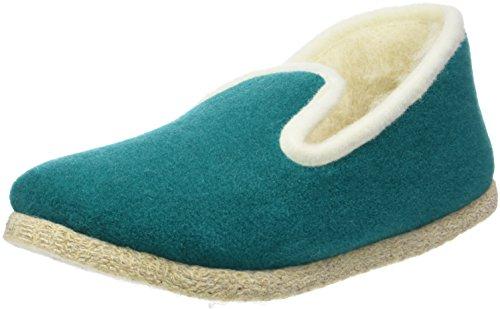 Rondinaud Chazelles, Zapatillas de Estar por Casa para Mujer, Azul (Lagon), 39 EU