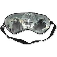 Dark Grim Reaper Skelett Flügel Ritter Dämon Schlafmaske Deep Rest Augenmaske mit verstellbarem Kopfband, Schlafzufriedenheit... preisvergleich bei billige-tabletten.eu