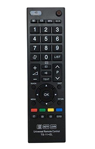 vinabty mando a distancia universal con función de aprendizaje Fit para Toshiba TV LCD 3d led y la mayoría de Panasonic Mandos a distancia