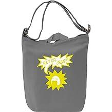 Shut Up Crime Leinwand Tagestasche Canvas Day Bag| 100% Premium Cotton Canvas| DTG Printing|