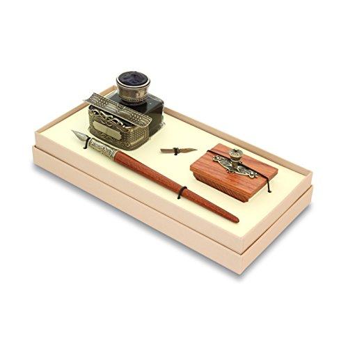 BORTOLETTI Schreibset Stift Holz Zeichnung Linie Exempla Made in Italy