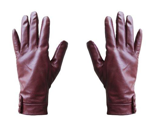 Hi-Fun Hi-Glove Guanto Bluetooth per Smartphone, Rosso Misura S