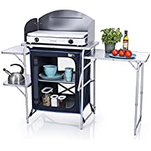 CAMPART Travel KI-0730 - Cocina de camping, color azul