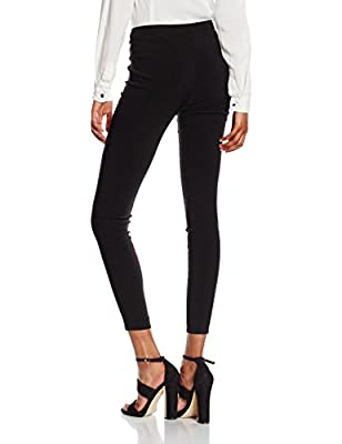 New Look Women's Zip Bengaline Leggings