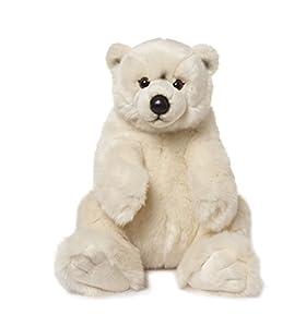 Mimex WWF16867 - Oso Polar de Peluche (Sentado, 22 cm)