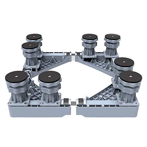 New Fashion Stabiler 4/8/12 Fuß Verstellbarer Fuß für die Waschmaschine, gekühlte Rack-Halterung, Kühlschrank-Basishalterung