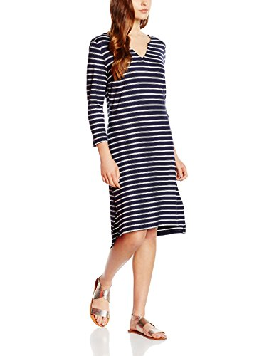 St.Tropez Damen Kleid N6572 Mehrfarbig (Blue D. 9224)