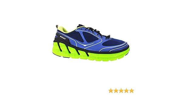 hoka conquest mens shoes navy lime black