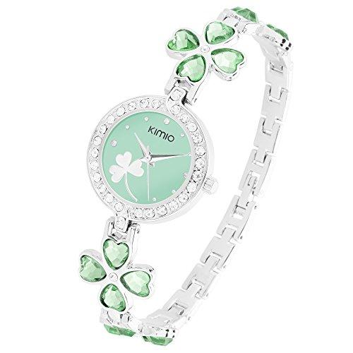 taffstyle-damen-armbanduhr-mit-weissen-kristallen-am-rand-und-kleeblatt-im-ziffernblatt-silber-grun