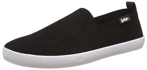 5. Lee Cooper Men's Black Sneakers