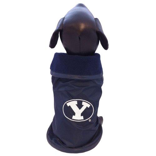 All Star Dogs NCAA Brigham (Young Universität Cougar Collegiate Oberbekleidung Hundemantel (XS) -
