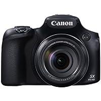 Canon PowerShot SX60 HS Digitalkamera (16,1 Megapixel, 65x opt. Zoom, WiFi, NFC) schwarz