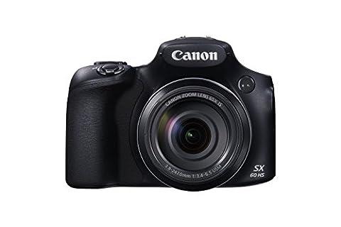 Canon Powershot SX60 HS Appareil Photo Numérique Bridge 16,1 Mpix Écran LCD 3