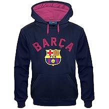 0940e5143c1ca FC Barcelona - Sudadera oficial con capucha - Para hombre - Con el escudo  del club