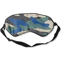 Camouflage Army Blue 99% Eyeshade Blinders Sleeping Eye Patch Eye Mask Blindfold For Travel Insomnia Meditation preisvergleich bei billige-tabletten.eu