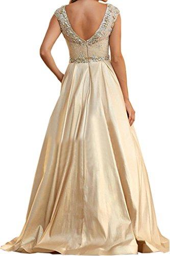 ivyd ressing Femme Roman A ligne Table eueckenfrei pierres Balle robe longue Prom Lave-vaisselle robe robe du soir Champagne