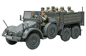 Tamiya 32534 - Maqueta de camión alemán Krupp Protze (Escala 1:48) (8), maqueta, Kit de Montaje de plástico, Manualidades, Hobby, Pegar, Kit de Montaje de plástico, sin Pintar.