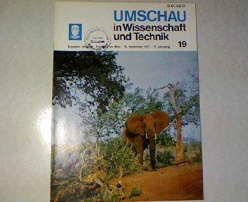 Experimentelle Petrologie und die Gesteinsbildung im Erdinnern, in: UMSCHAU - In Wissenschaft und Technik. 71. Jahrgang, Heft 19.